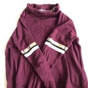 Purple Turtle Neck Sweater | M | Victoria Secrets